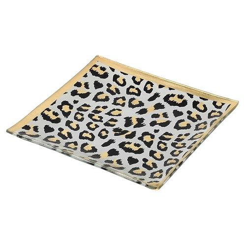 Leopard Print Trinket Tray