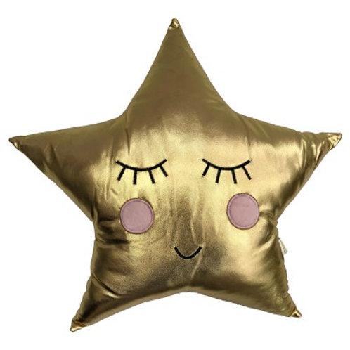 Gold Star Cushion