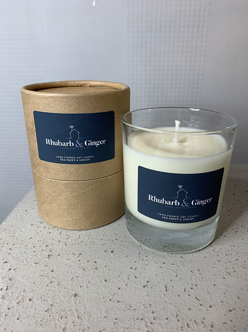Red Poppy & Ginger Candle