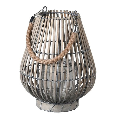Small Grey Willow Lantern