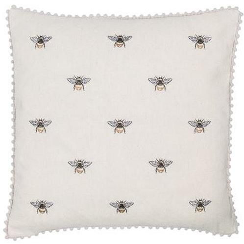 Bee Pom Pom Cushion
