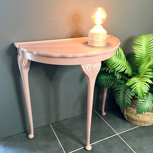 'Alani' Half moon table