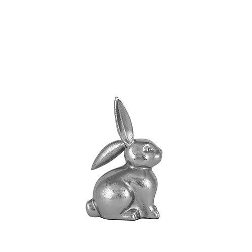 Silver Metal Rabbit