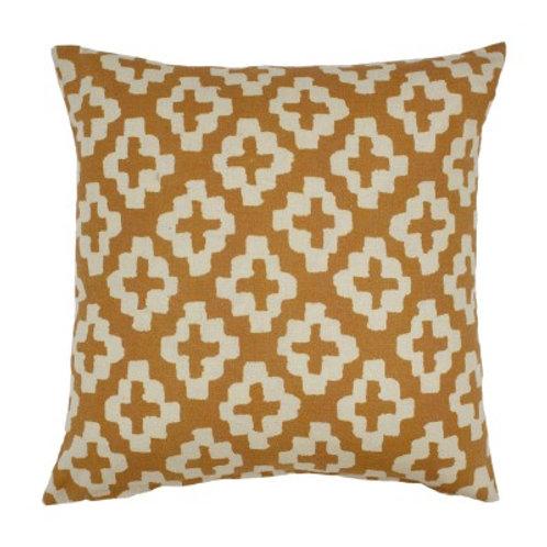 Geo cushion - Mustard