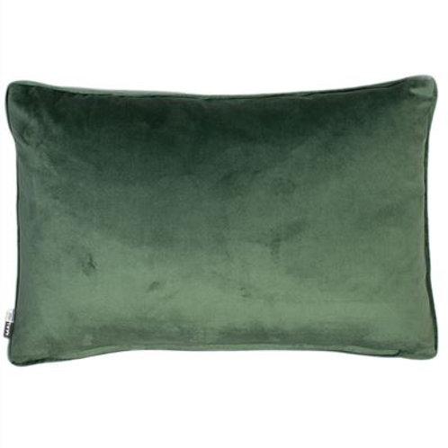 Luxe Velvet Cushion- Green
