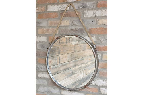 Rope Mirror With Hook