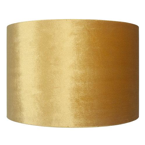 30cm Velvet Shade - Mustard