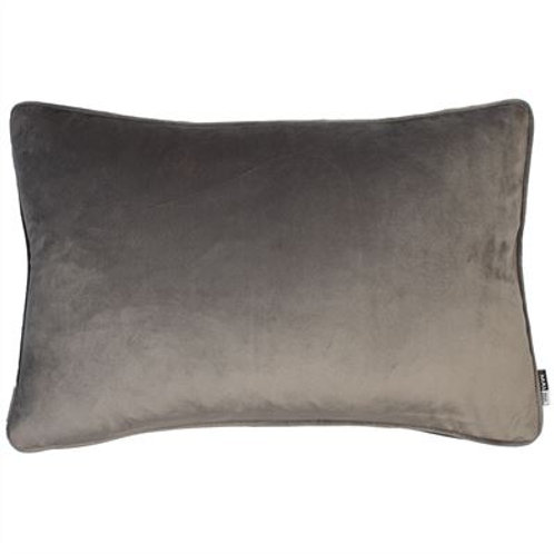 Luxe Velvet Cushion - Grey