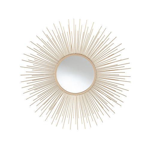 Gold Starburst Wall Mirror