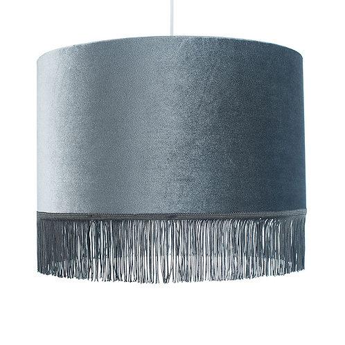 45cm Tassel Ceiling Shade - Grey