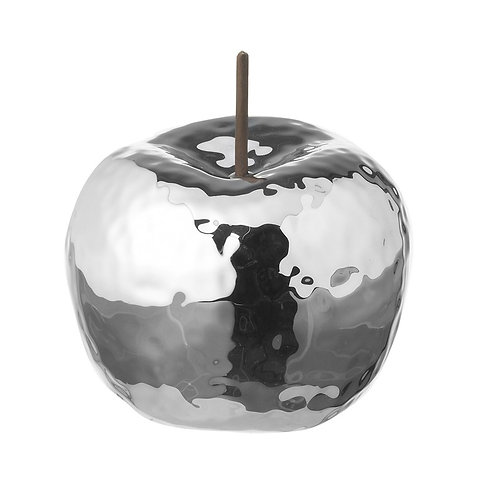 Silver Apple Decoration