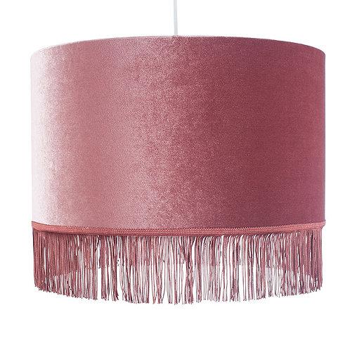 45cm Tassel Ceiling Shade -Dusky Pink