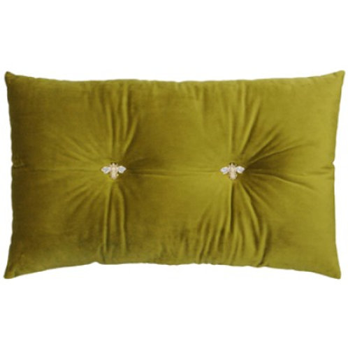 Bumble Bee Cushion Olive