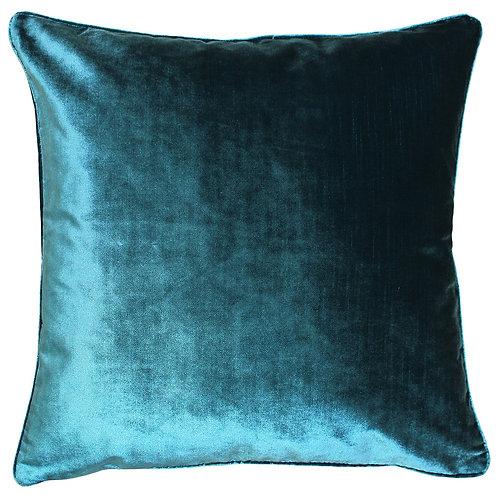 Luxe Velvet cushion - Teal