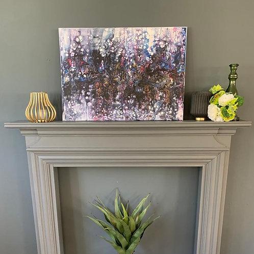 'Purple Rain' Original Canvas