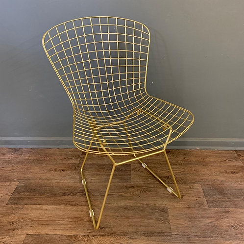 Gold Wire Dining Chair Set of 4