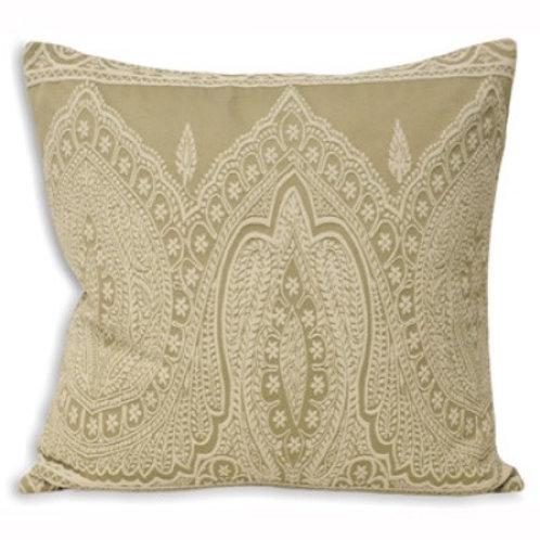 Paisley Print Cushion Linen