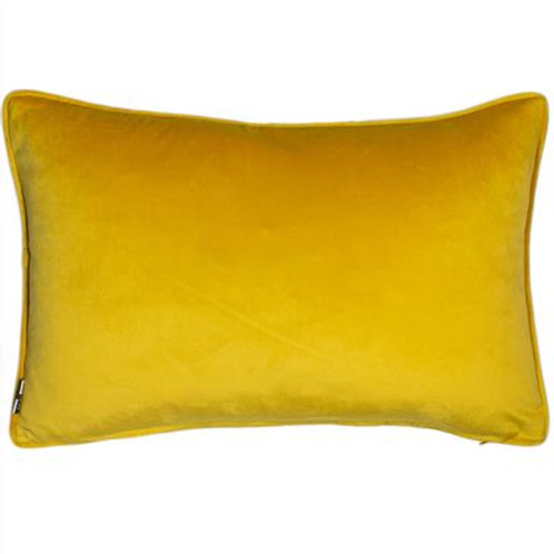Luxe Velvet Cushion - Mustard