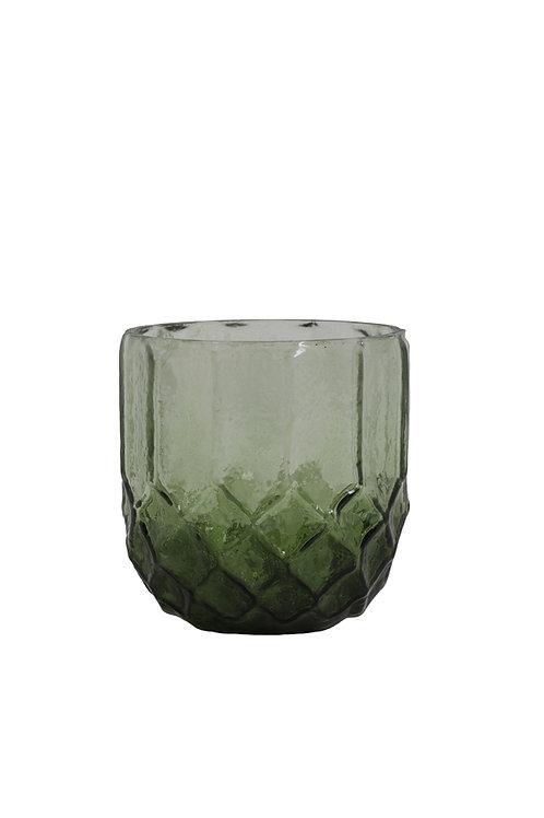Small green tealight holder
