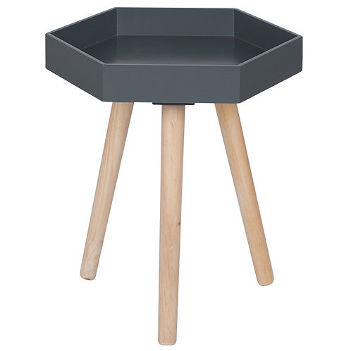 Side Table -Grey