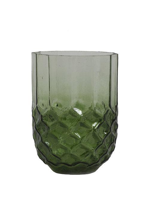 Large green tealight holder