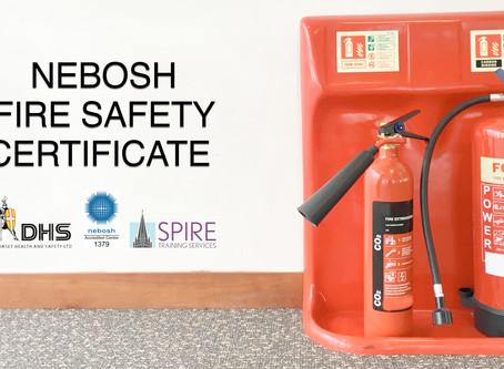 NEBOSH Fire Safety Certificate Conversion Course - Salisbury, May 19