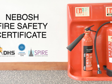 NEBOSH Fire Safety Certificate Conversion Course - Salisbury, May 19