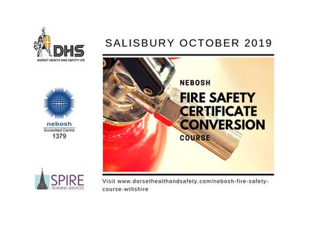 NEBOSH Fire Safety Certificate Conversion Course - Salisbury, Oct 19