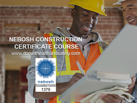 NEBOSH NATIONAL CONSTRUCTION CERTIFICATE COURSE FEB 19