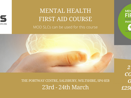 Mental Health First Aid Course March 2020