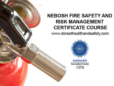 SALISBURY - NEBOSH FIRE SAFETY AND RISK MANAGEMENT CERTIFICATE COURSE