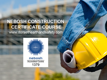 NEBOSH CONSTRUCTION CERTIFICATE COURSE OCTOBER 18