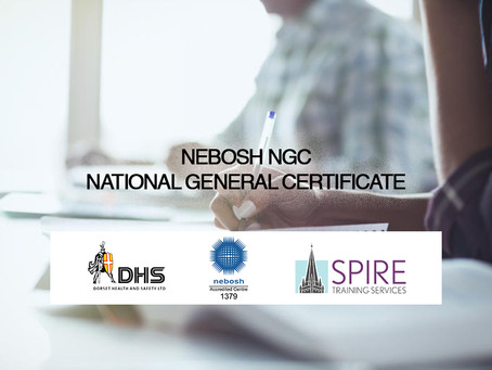 MAY 2019 NEBOSH NATIONAL GENERAL CERTIFICATE COURSE, SALISBURY