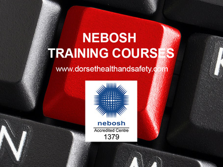 NEBOSH TRAINING COURSE Salisbury 3rd September 2018