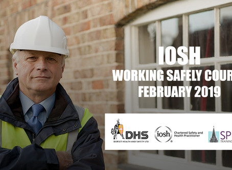 IOSH WORKING SAFELY COURSE SALISBURY FEBRUARY 2019