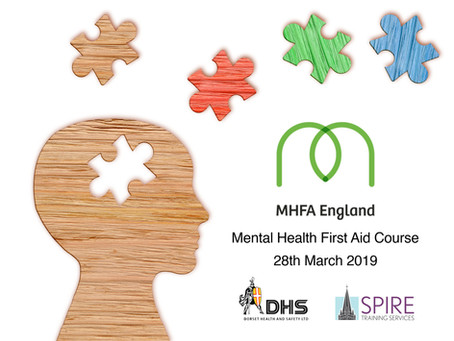Mental Health First Aid Course March 2019, Salisbury