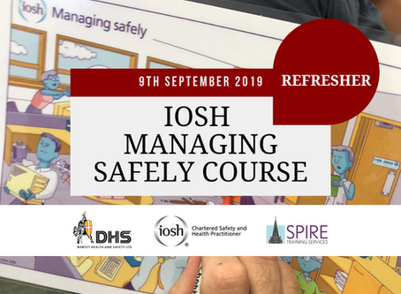IOSH Managing Safely Refresher Course Salisbury September 2019