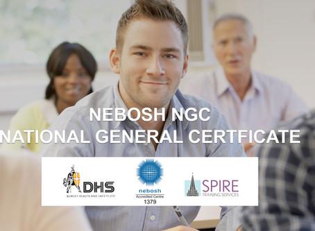 NEBOSH NATIONAL GENERAL  CERTIFICATE COURSE, SALISBURY