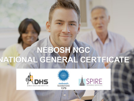 NEBOSH NATIONAL GENERAL  CERTIFICATE COURSE, SALISBURY
