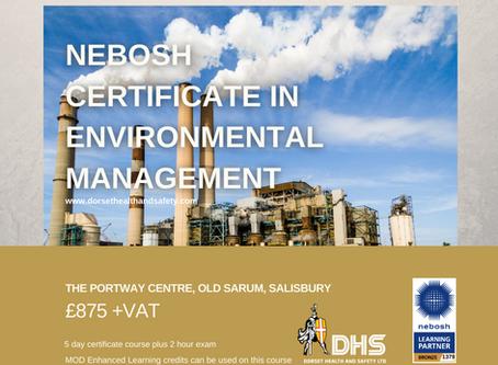 NEBOSH Certificate in Environmental Management