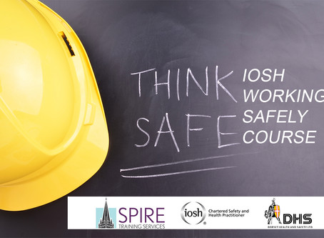 IOSH WORKING SAFELY COURSE SALISBURY 18th JULY 2019
