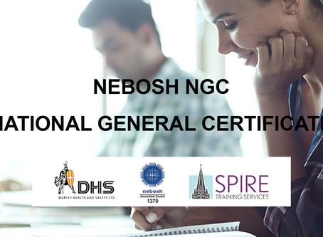 FEB 2019 NEBOSH NATIONAL GENERAL CERTIFICATE COURSE, SALISBURY