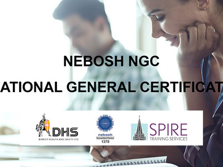 FEB 2019 NEBOSH NATIONAL GENERAL CERTIFICATE COURSE, SALISBURY