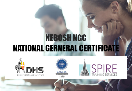 APRIL 2019 NEBOSH NATIONAL GENERAL CERTIFICATE COURSE, SALISBURY