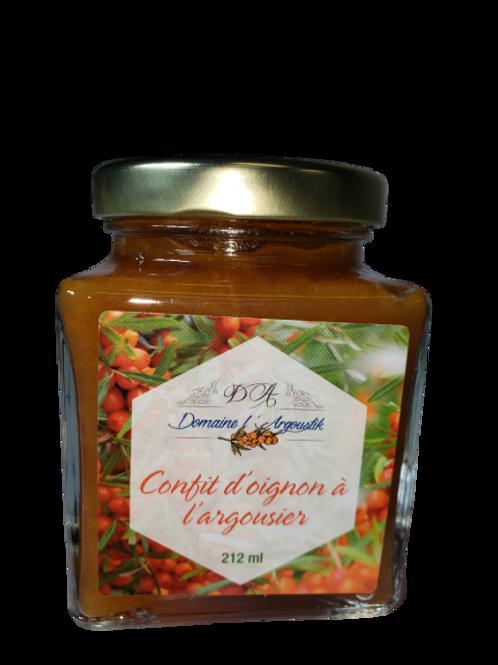 Confit d'oignons et d'argousiers - Domaine L'Argoustik