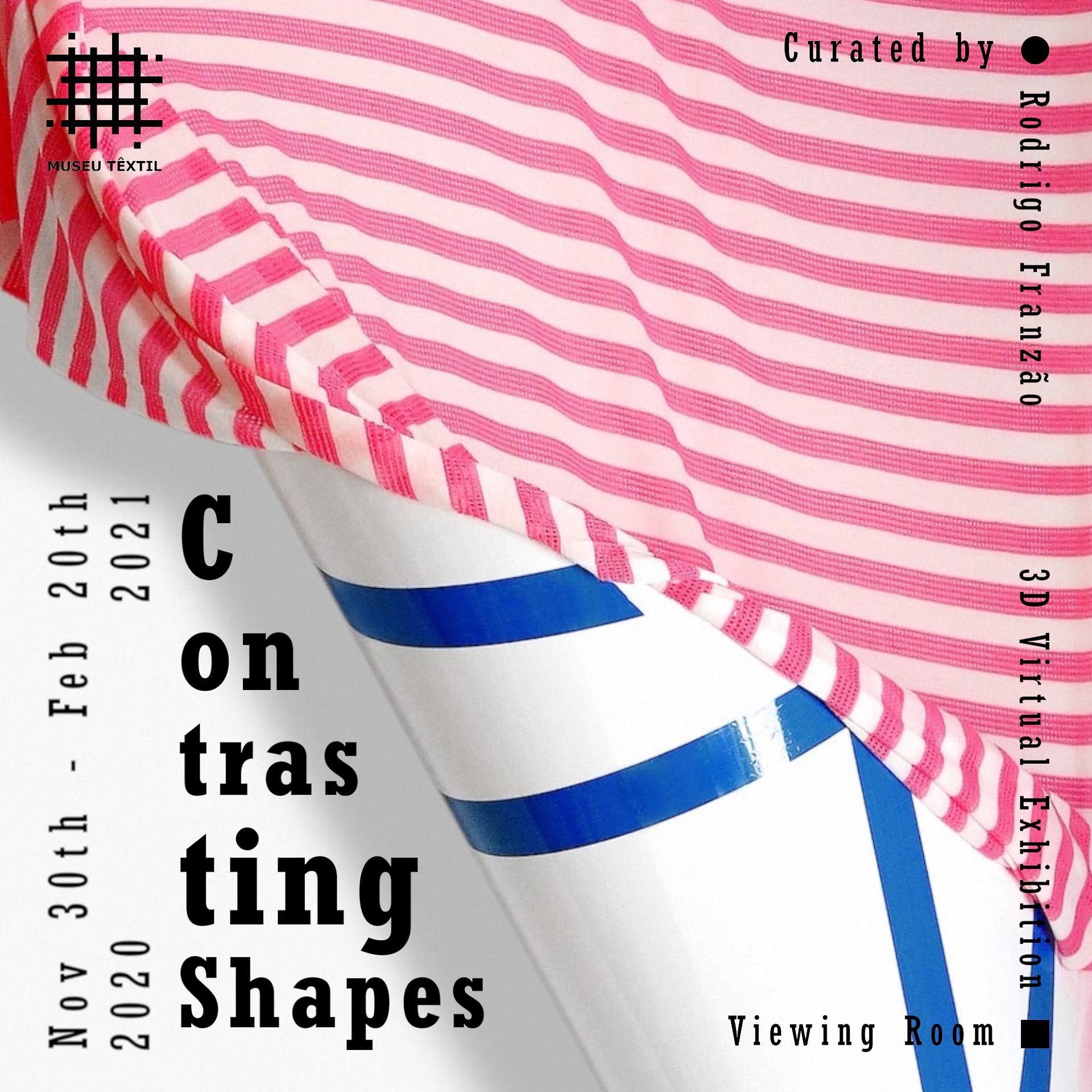 Invitation - Museu Têxtil - Contrasting