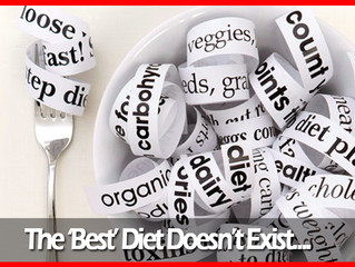 The 'Best' Diet Doesn't Exist...
