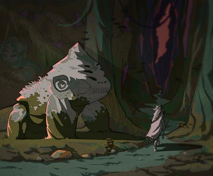 El reflejo de la bruja (Bosque)