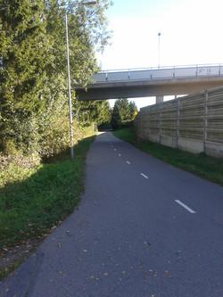 2 km suora - a straight