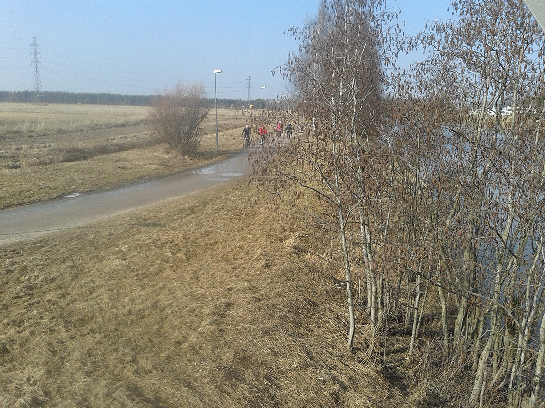 10 km juoksureitin reittikuvia